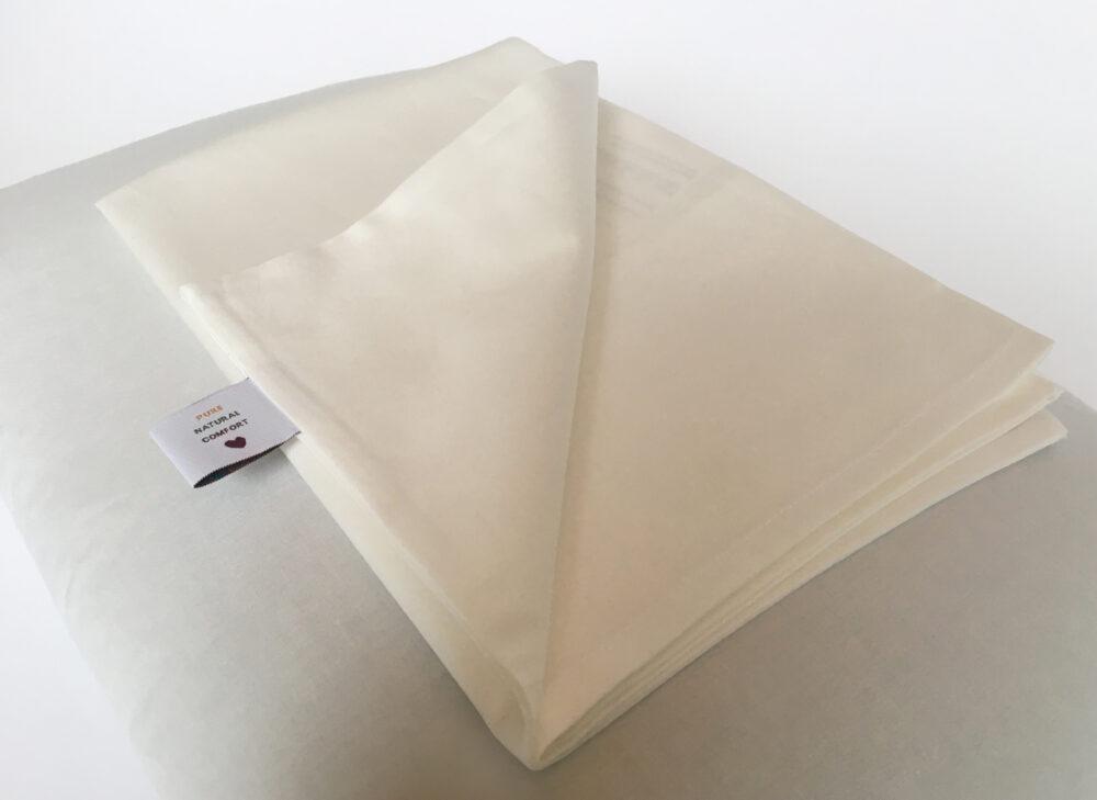 PUUR.SHOP kussensloop passend voor het boekweitkussen